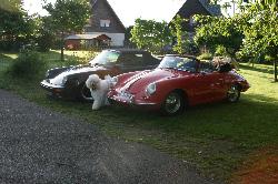 Torres unterwegs mit der Porsche356IG